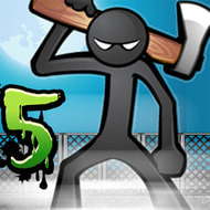 Download Anger of Stick 5: Zombie (MOD, Unlimited Money) free on android