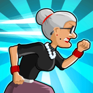 Angry Gran Run (MOD, много монет)