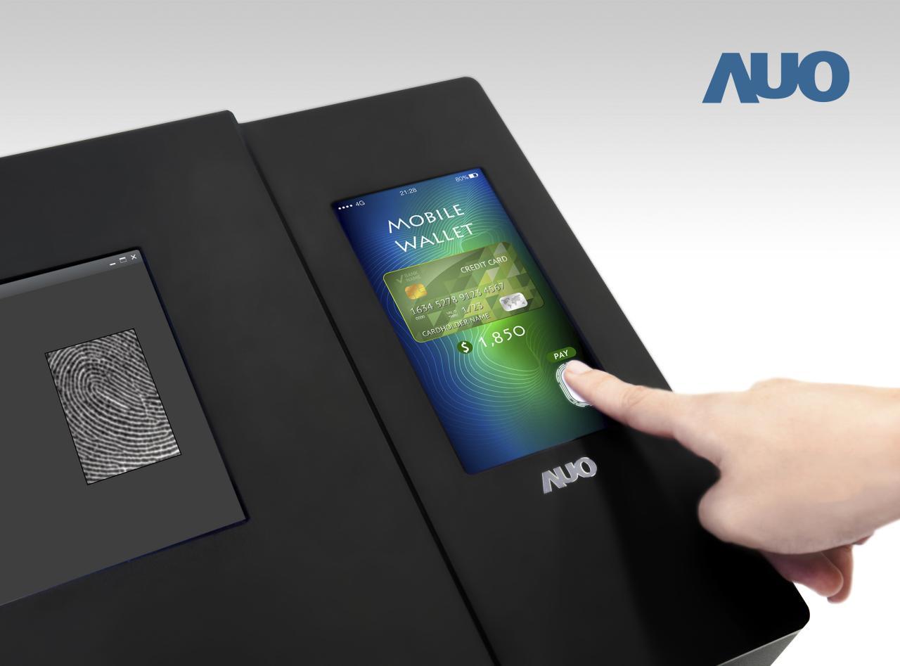 AU Optronics представила датчик отпечатка величиной с экран
