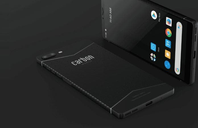 Carbon Mobile has announced a carbon fiber smartphone