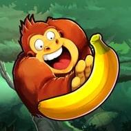 Banana Kong (MOD, много бананов)