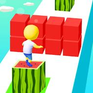 Cube Surfer! (MOD, много камней)