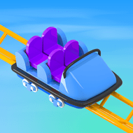 Idle Roller Coaster (MOD, Unlimited Coins)