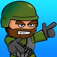 Doodle Army 2 : Mini Militia (MOD, много гранат)