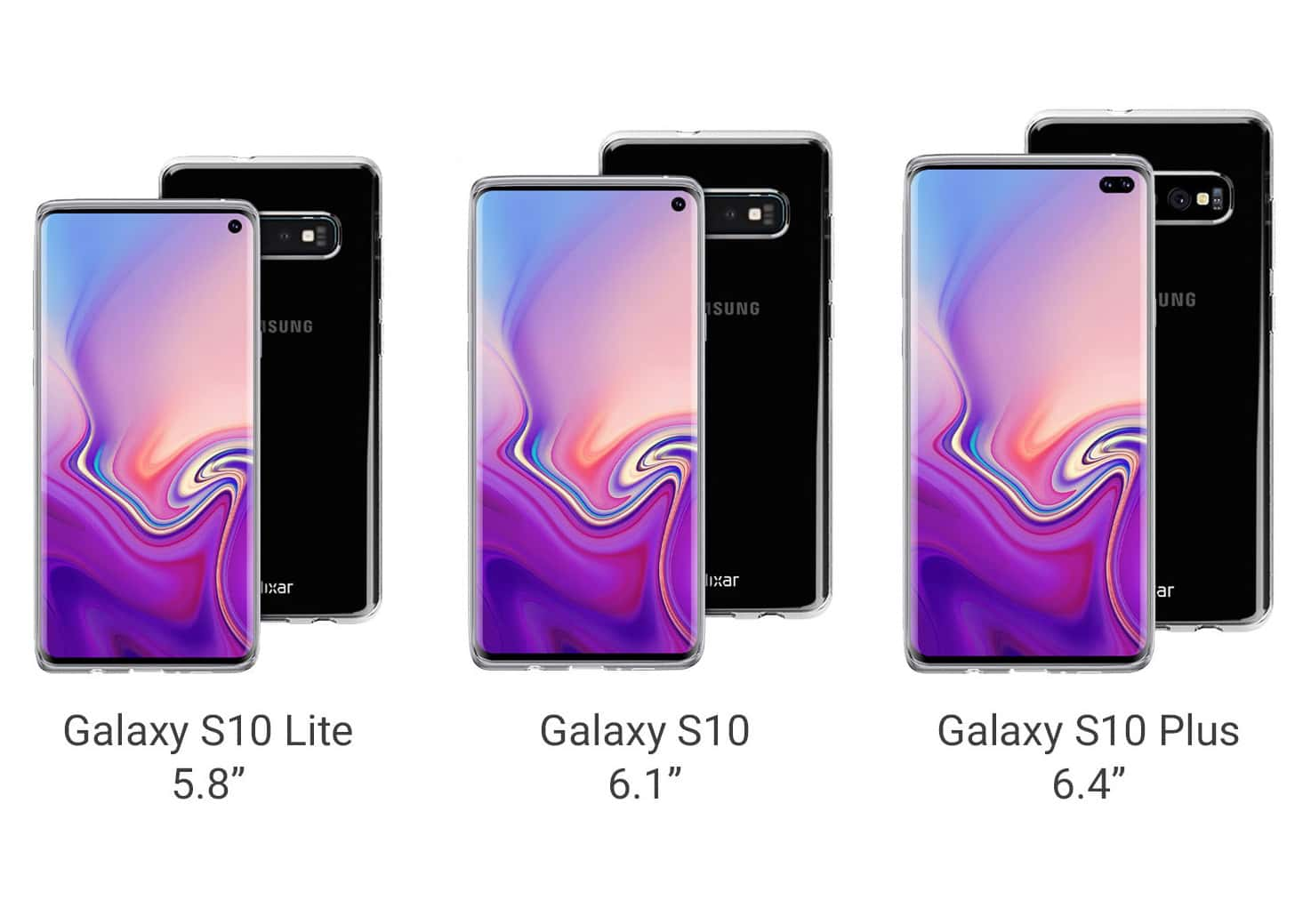 English online store declassified the entire line of the Galaxy S10