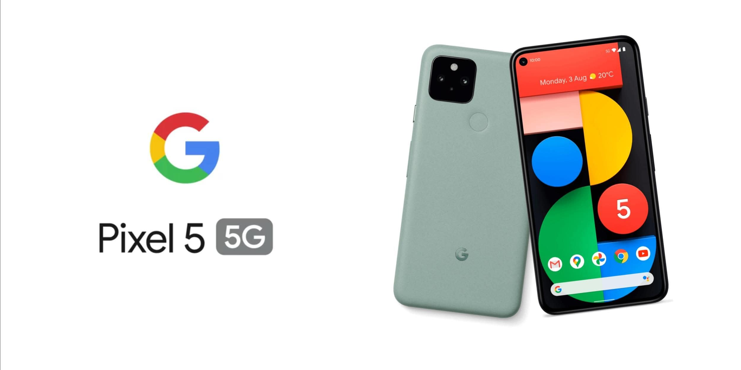 Presented Pixel 5 and Pixel 4a 5G