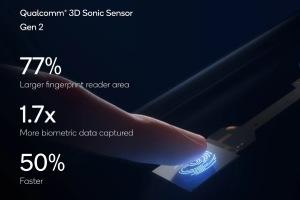 Qualcomm представила второе поколение сканеров отпечатка пальца