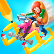 Scribble Rider! (MOD, Unlimited Coins)