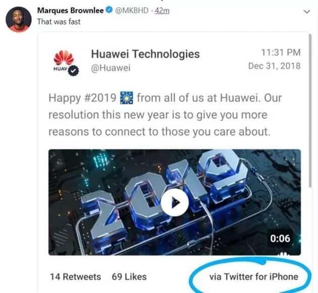 Huawei лишила премии работников