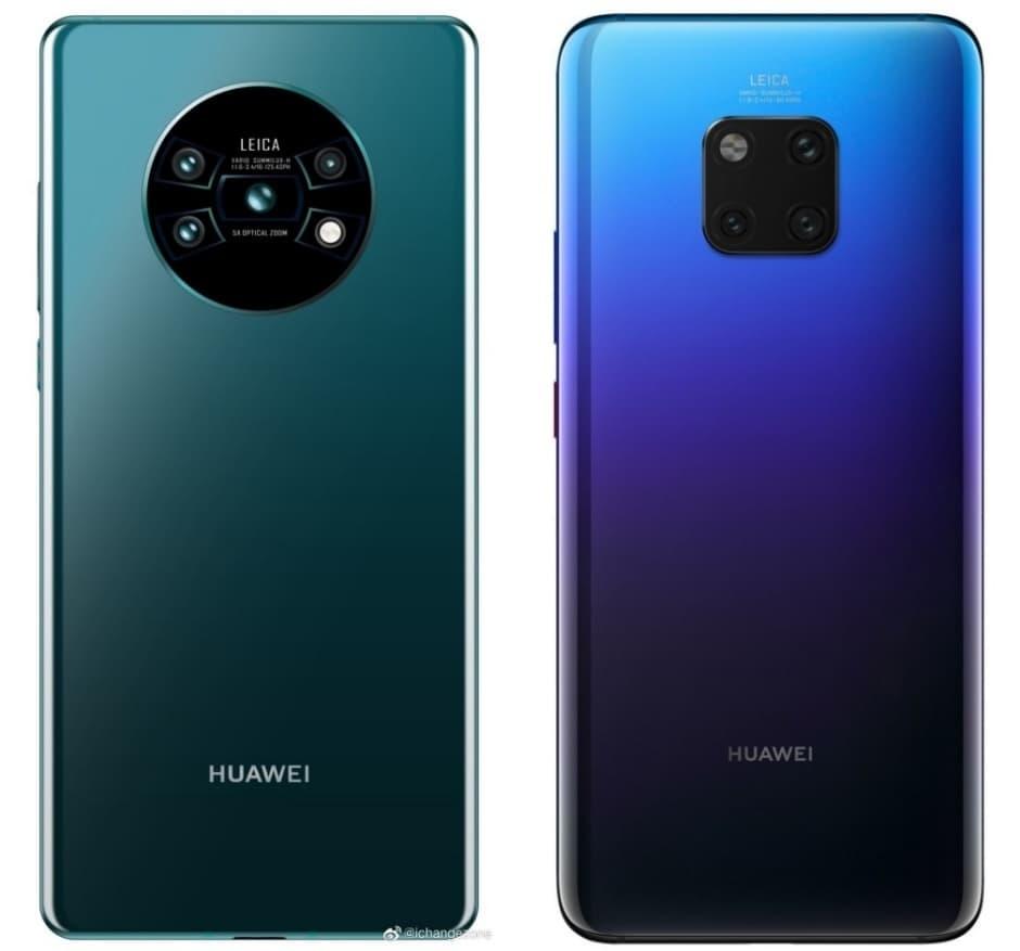 Unannounced Huawei Mate 30