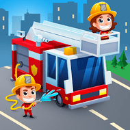 Download Idle FireFighter Tycoon (MOD, Unlimited Money) free on android - download free apk mod for Android