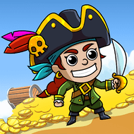 Idle Pirate Tycoon (MOD, много монет)