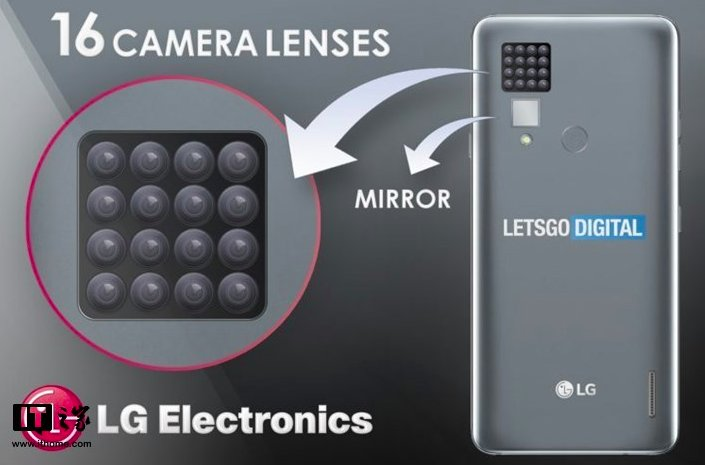 LG patented smartphone with 16 cameras