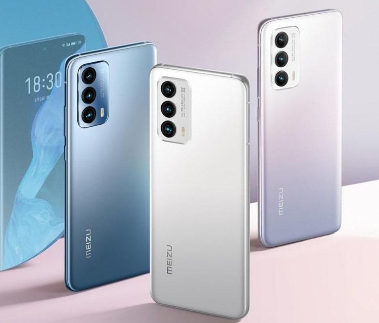 Meizu unveiled the flagship Meizu 18