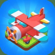 Merge Plane - Click & Idle Tycoon (MOD, много денег)