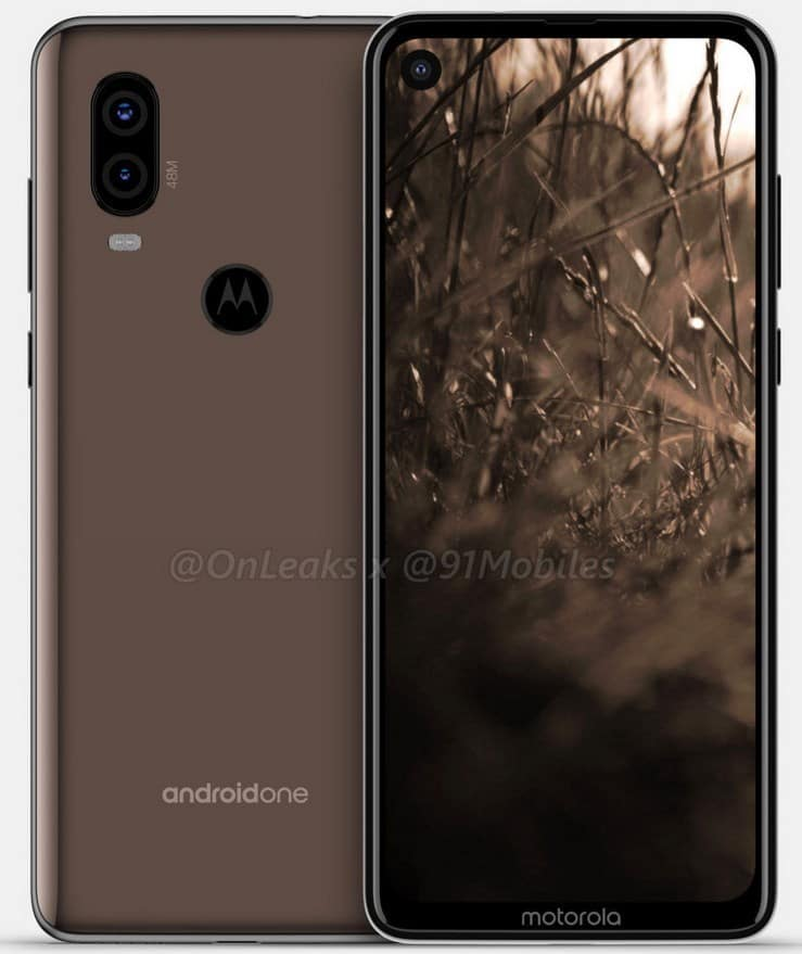 Images of Moto P40 appeared on the web