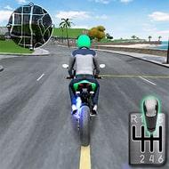 Moto Traffic Race 2: Multiplayer (MOD, много монет)