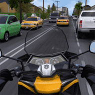Download Moto Traffic Race 2: Multiplayer (MOD, Unlimited Coins) free on android