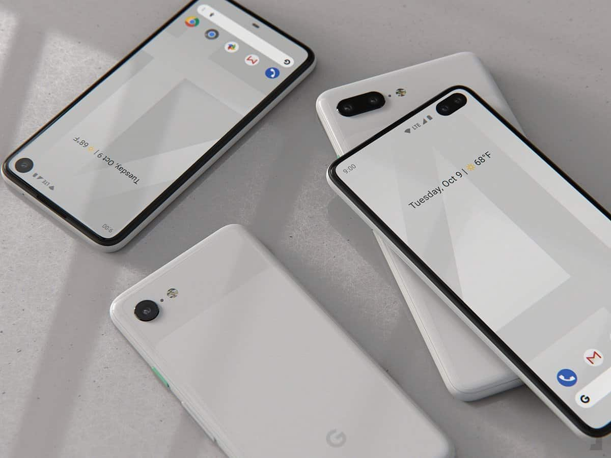 Images of the fourth generation Pixel