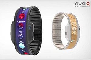 Nubia планирует показать на MWC гибкий наручный смартфон