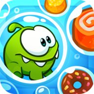 Om Nom: Bubbles (MOD, unlocked) - download free apk mod for Android