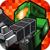 Pixel GunCraft 3D Zombie FPS (MOD, much money) - download free apk mod for Android