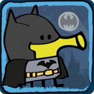 Doodle Jump DC Super Heroes (MOD, unlimited money)