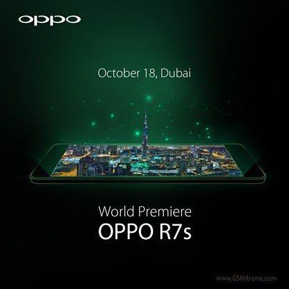 Новый смартфон от OPPO - R7S