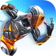 RunBot – Rush Runner (MOD, Unlimited Battery Cells) - download free apk mod for Android