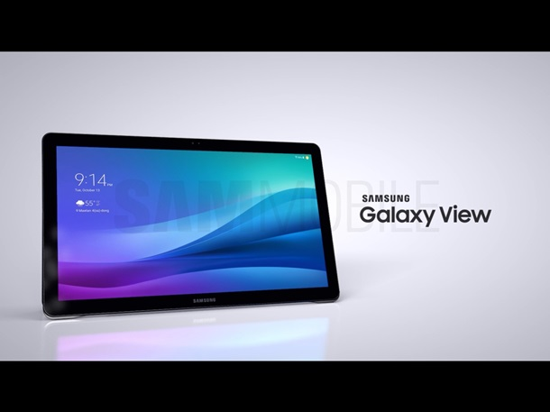 Samsung will release a giant Galaxy View