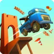 Bridge Constructor Stunts (MOD, unlocked) - download free apk mod for Android