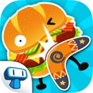 Burgerang – The Food Wars (MOD, unlimited money)