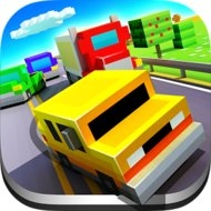 Blocky Highway (MOD, unlimited money/unlocked) - download free apk mod for Android