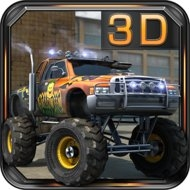 Download Monster Trucks 3D Parking (MOD, unlimited money) free on android