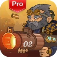 Download Steampunk Defense Premium (MOD, Money/Heroes Unlocked) free on android