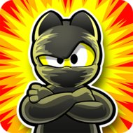 Ninja Hero Cats Premium (MOD, unlimited money)