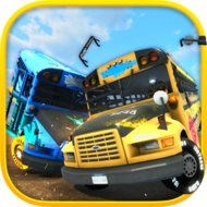 School Bus Demolition Derby (MOD, unlimited money)