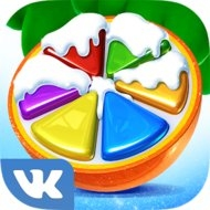 Fruit Land match 3 for VK (MOD, apples)