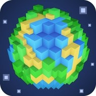 Planet of Cubes - Blocks Craft
