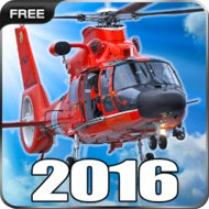 Helicopter Simulator 2016 (MOD, unlocked) - download free apk mod for Android