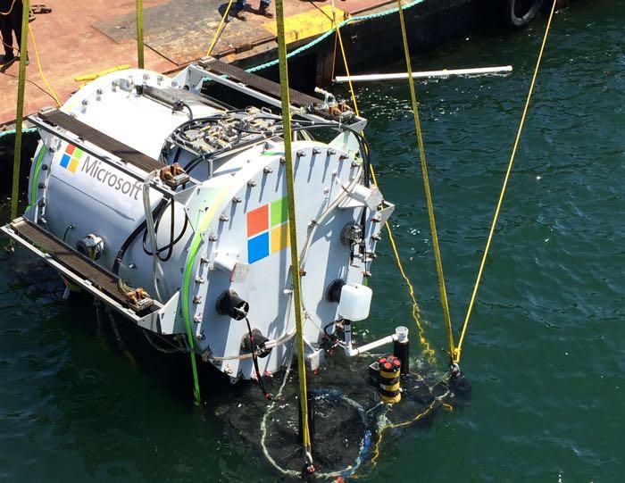 Underwater data centers from Microsoft