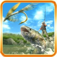 Fly Fishing 3D (MOD, unlocked/coin)