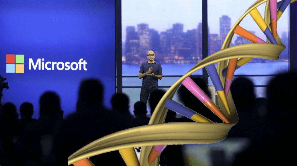 Новая технология от Microsoft для хранение данных