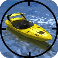 SpeedBoat Shooting (MOD, Unlimited Gold)