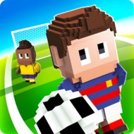 Download Blocky Soccer (MOD, Unlimited Gift) free on android