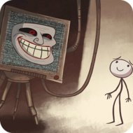 Troll Face Quest Unlucky (MOD, unlimited hints) - download free apk mod for Android