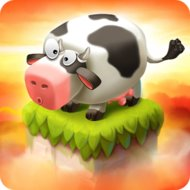 Cube Farm 3D: Skyland Craft (MOD, unlimited money)