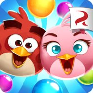 Download Angry Birds POP Bubble Shooter (MOD, gold/lives) free on android