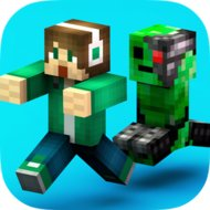 Download Crossy Creeper : Smashy Skins (MOD, unlimited gems) free on android