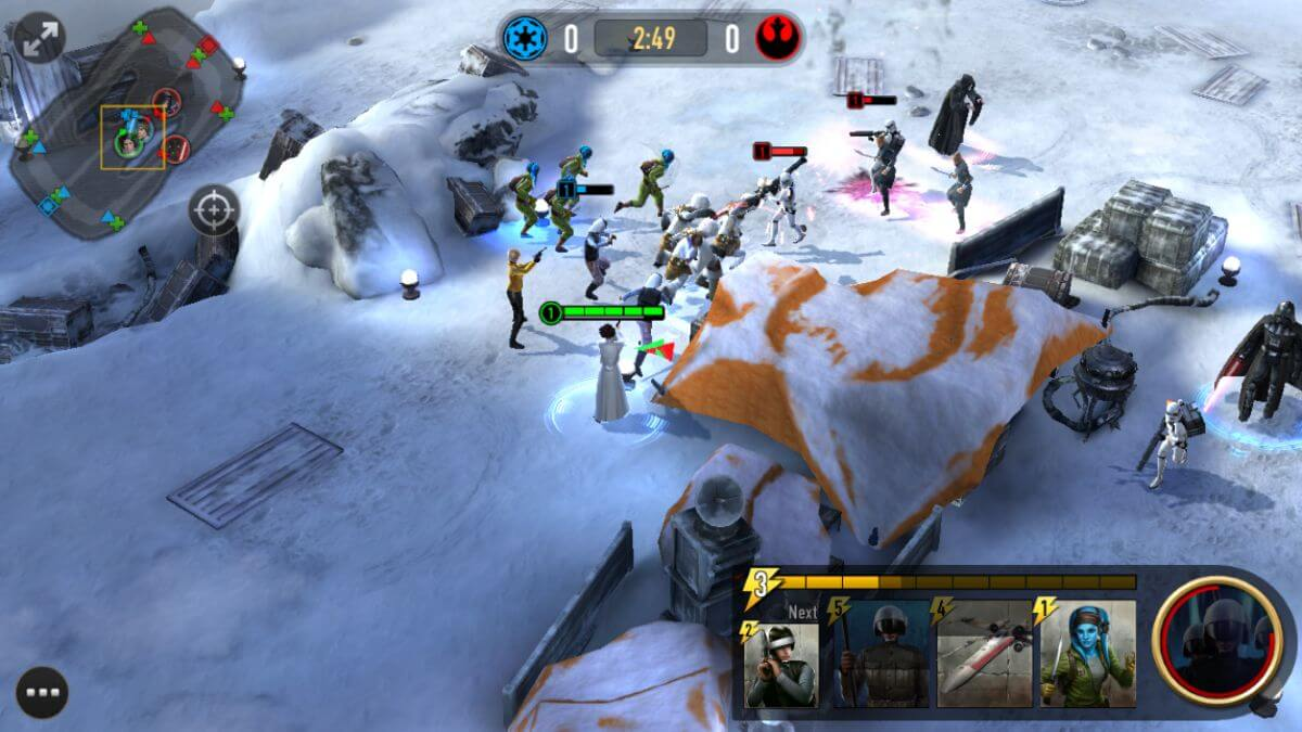 MOBA Star Wars: Force Arena от Netmarble